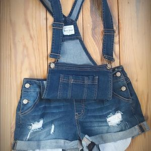 Cute Overall Shorts